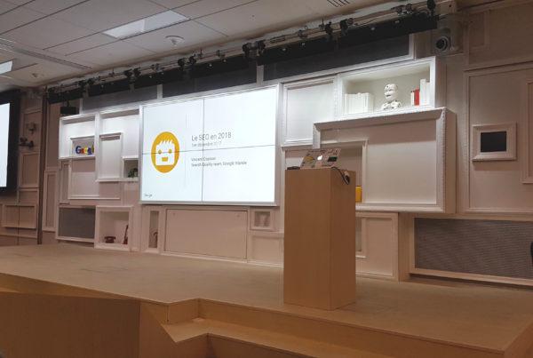Conférence Google Paris
